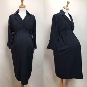 Delta Collection S Navy Blue Maternity Uniform